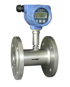 Intellgent turbine water liquid water meter