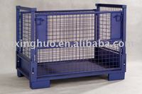 Foldable Warehouse Steel Crate