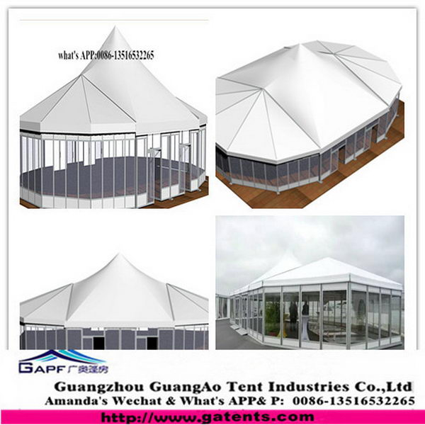 China manufacture First Grade pvc double peak star tent