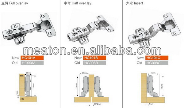 Hot sell updated meaton cotswold hinges