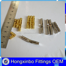 Hongxinbo Factory supply metal brass pin hidden consealed jewelry wooden box hinge