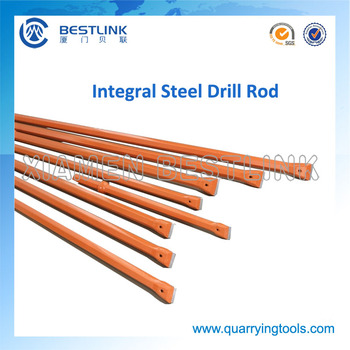 Quarry Blast Hole Drilling Integral Drill Rod
