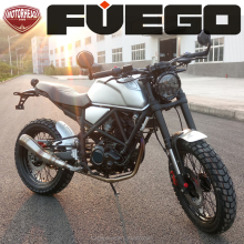 MAC Dreams CAFE RACER 250CC Scrambler Bike Street Racing Dirtbike