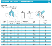 metal brackets for pipes