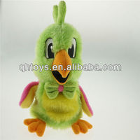 record parrot toy,talking parrot plush toys