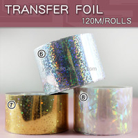 Nail Foil Art Decorate Roll Strips Transfer Design nail foil sticker
