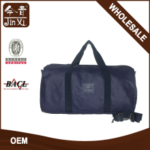 wholesale navy upscale canvas golf travel bag