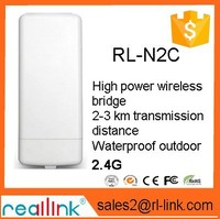 Long Range outdoor N2C Wireless RJ45 Port wifi CPE Bridge