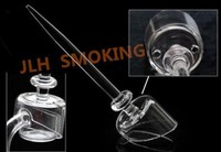 [JLH] Quartz carb cap for banger quartz nail. We are quartz bubbler wholesale quartz swing , titanium swing, honey bucket nail.