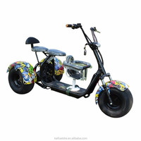 1000W Eec Electric Scooter 35Km/H 60V Citycoco Scooter Adult Pedal Trike Drift