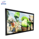 indoor digital signage led screen with samsung pc tablet advertisement media player