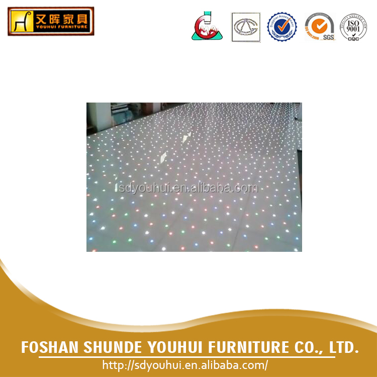 Wholesale price event rental starlit dance floor Led dance floor / led dance floor panels for party