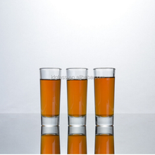 high quality 60ml glass cup long shot glass