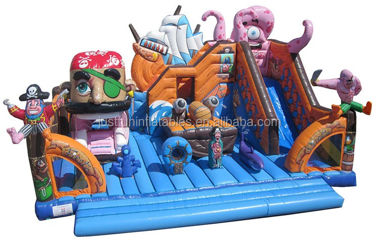 pirate ship giant inflatable playgrounds pirate ship inflatable fun city with slide.jpg