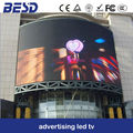 Giant outdoor led display with CE ROHS for advertising