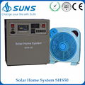 Complete 50W 60W 80W solar home lighting system solar power for sale
