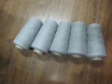 100% recycled cotton 10s yarn grey yarn
