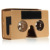 Good quantity brown 3D VR Goggles Google cardboard V2 for smart phone