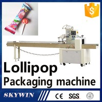 Automatic Horizontal Food(Ball Flat) Candy Lollipop Packaging Machinery