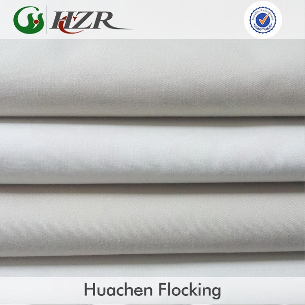 In-stock discount blackout curtain lining fire retardant BS5867 fabric in china