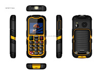 IP67 waterproof dual sim rugged top chargers mobile phone