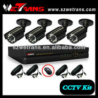WETRANS 4CH Real Time H.264 Network CCTV Home Security Products