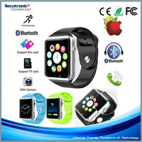 Bluetooth A1 Smart Watch With NFC SIM Card Phone Mate For Apple Iphone IOS & Samsung Huawei Xiaomi Android Phone