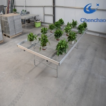 Steel rolling benches extremely expanded mesh for seeding bed