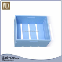 Factory direct provide durable wood crate gift boxes