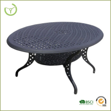 2016 outdoor round alibaba cast alum table/dinner table made in China