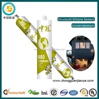 High Modulus Silicone Glue for Stainless Steel