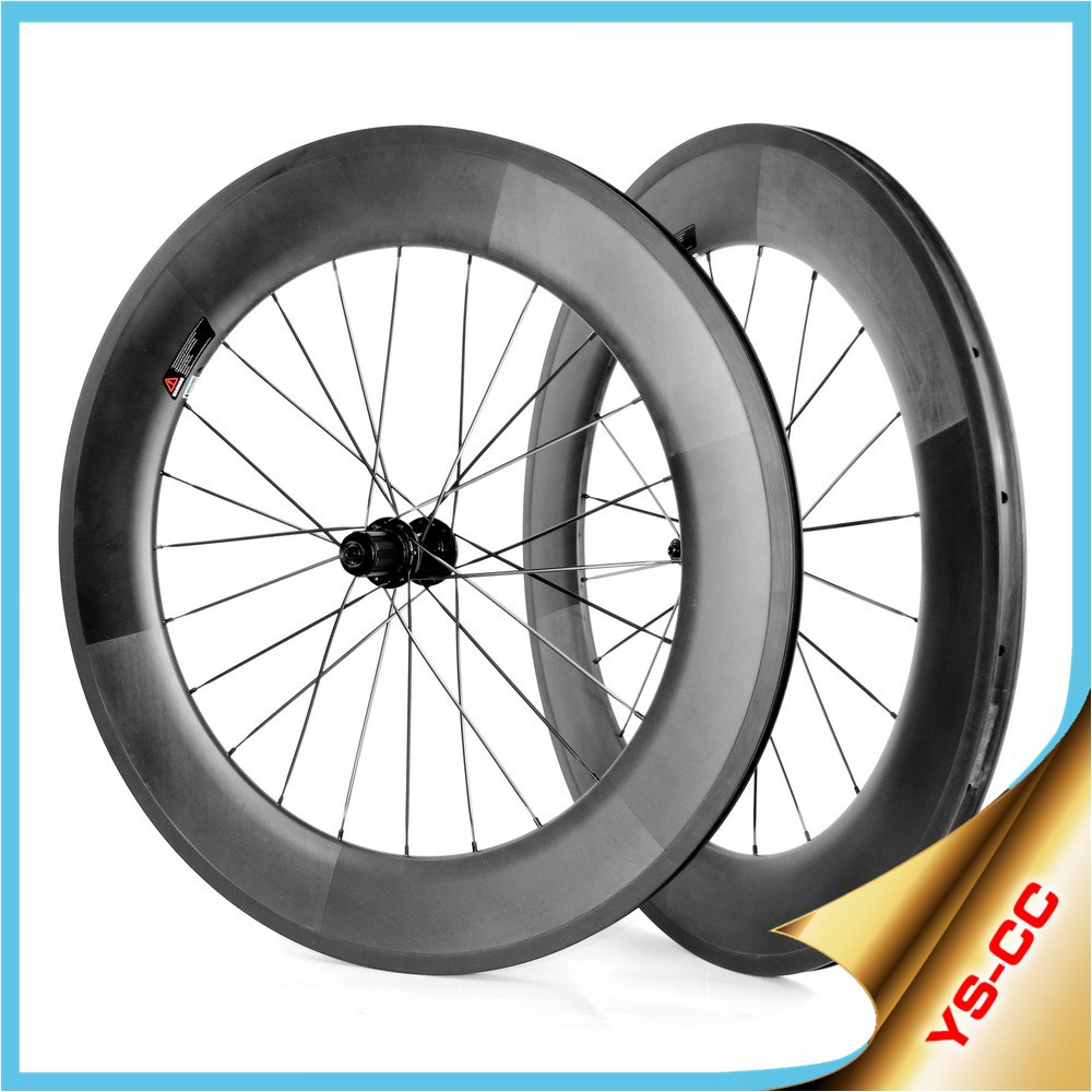 Hot-selling!! 700c bicycle wheels 88mm 700c bicycle wheels clincher chinese carbon bicycle wheels 2015CC-88C-W