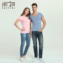 Fashionable slim men's dress and women 100% polo t-shirt