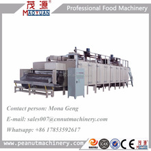 Continuous Pumpkin Sunflower Seeds Chestnut Roaster Macadamia Nut Roasting Machine