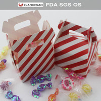 Custom logo or sizes printed candy box for Christmas gift package