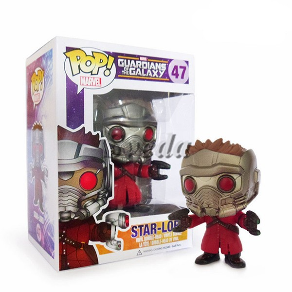 (Best selling)Star-Lord#47 Vinyl pop action figure, Collectible mini PVC cartoon figure