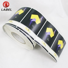 Factory Custom Printed Adhesive Roll Wine Bottle Label Sticker