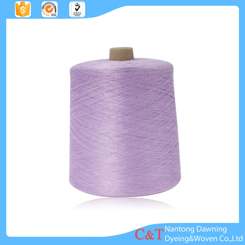 100% cotton slub yarn
