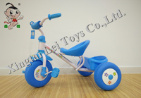 Popular children tricycle kids 3 plastic wheels pedal car for sale/white frame Baby Tricycle/Cheap Kid Tricycle bike