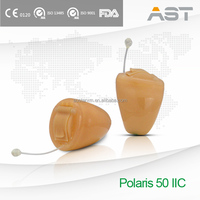 Polaris 50 Totally Invisible Powerful Hearing Aid IIC hidden in ear canal