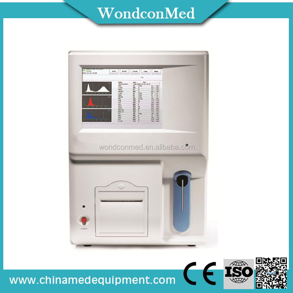 Popular classical 3-part used hematology analyzer