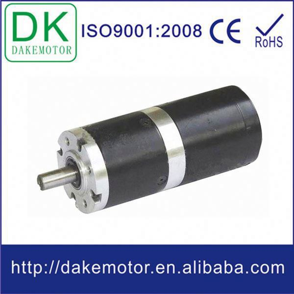 56mm 12v 24v dc brushless planetary low-voltage low rpm high torque dc motor