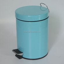 standard Pedal powder coating dustbin for bedroom