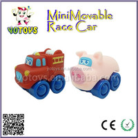 2015 new baby soft plastic mini car toy