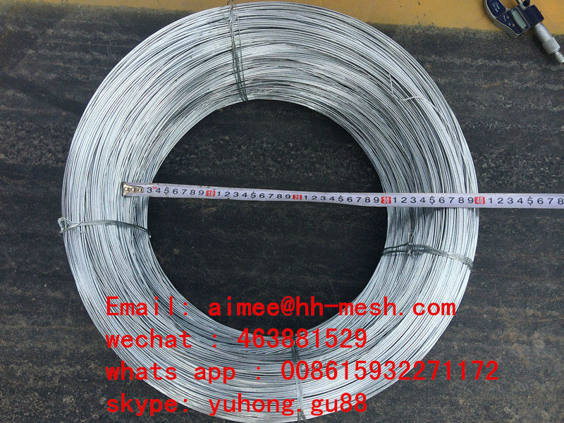 hs code binding wire tie wire high zinc rating galvanized wire