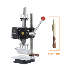 Adjustable height 0-16cm low price small printing machine leather embossing heat press sublimation machine