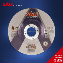 T42 multi function free sample 9 inch cutting and grinding disc for all metal with MPA