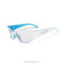 Customized Theater 3D Glasses/DLP 3D Glasses for Cinema Silver Screen/Plastic 3D Glasses