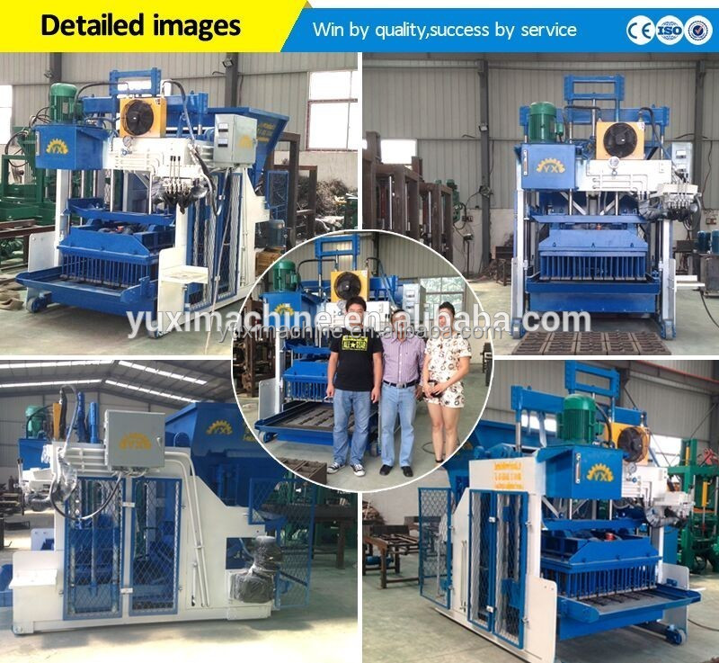 2017 New Factory Price Mobile Egg Laying Block Making Machine/Portable Cement Block Making Machine