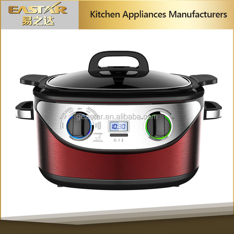 commercial electric multi cooker, digital electric cooker 1350W 230V